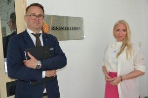 Riksmekler Ruland og Sverresdatter Larsen